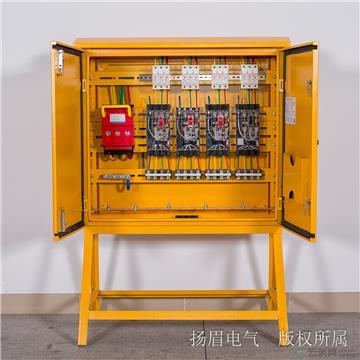 临时用电三级箱jn-iii-160-6f