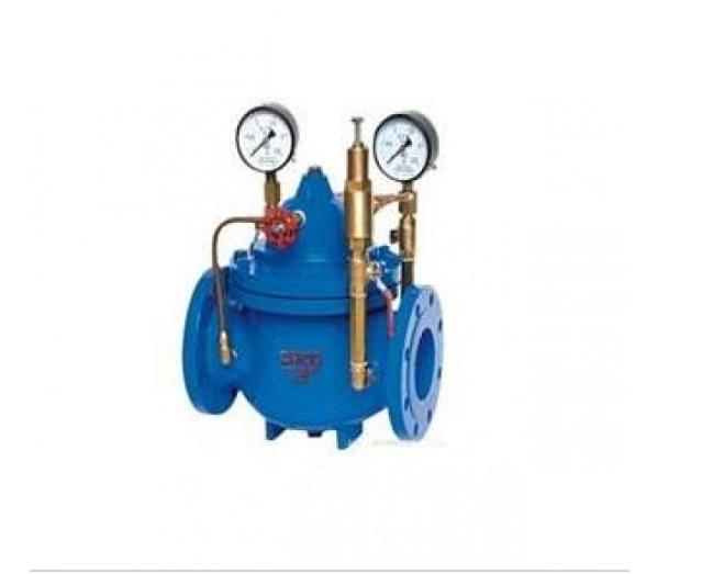 水暖器材,阀门管件  水力自控阀 先导式减压阀  当阀门出口压力降到导图片