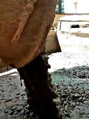 华润 C30普通混凝土 抗渗P4 塌落度120~180mm 车载泵